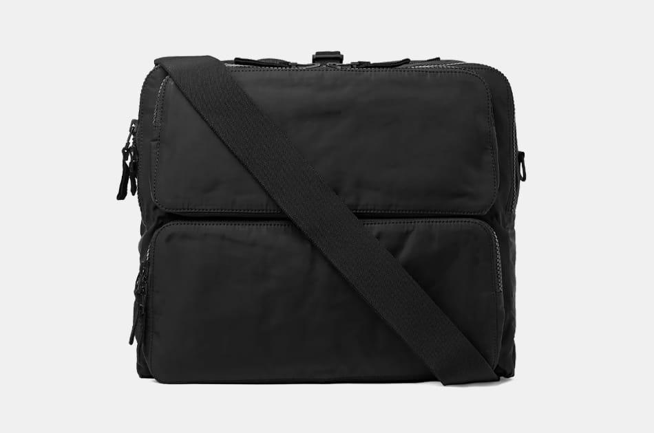 James Perse Nylon Messenger Bag