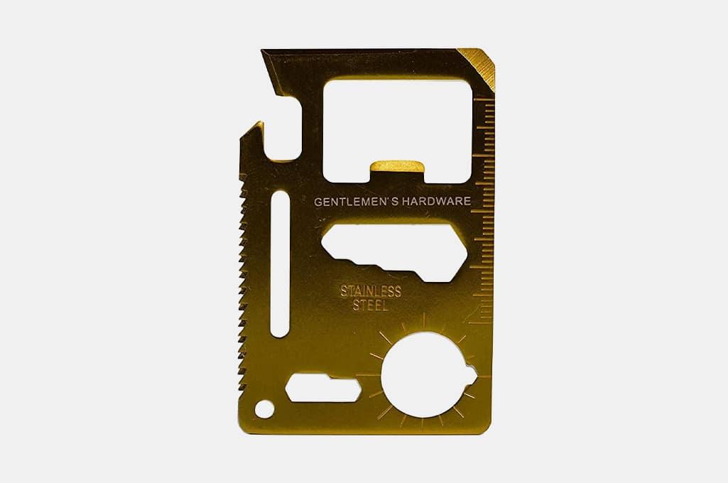 Gentleman's Hardware Credit Card Multi-Tool