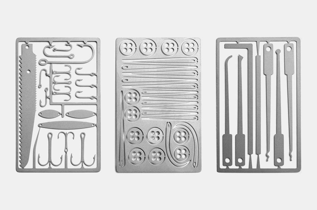 Titanium Survival Card Tools