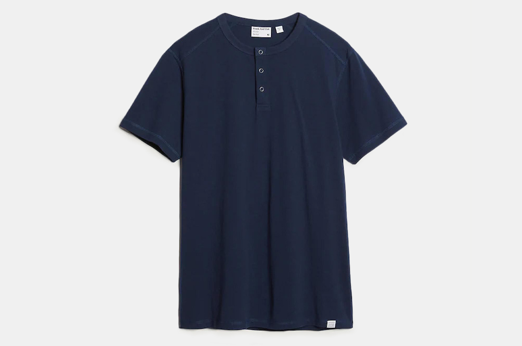 Frank and Oak The Temperature Control Henley