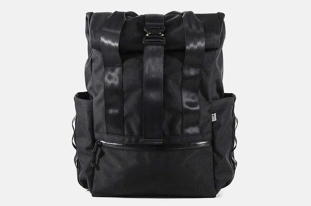 Defy VerBockel Rolltop Backpack 2.0 'Un-Zipped'   Ballistic Nylon