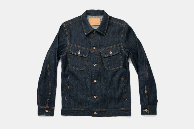 Taylor Stitch Long Haul Jacket in Organic '68 Selvage