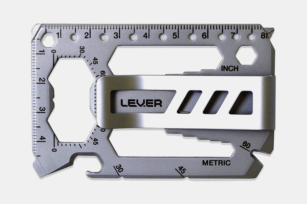 Lever Gear ToolCard Pro With Money Clip