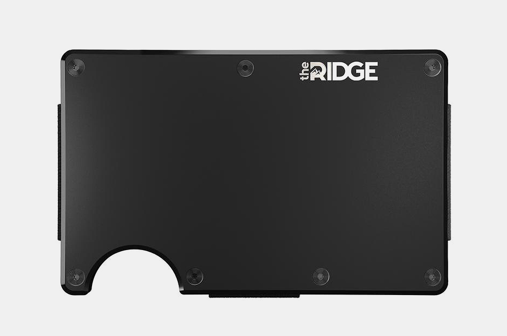 Ridge Wallet + Money Clip