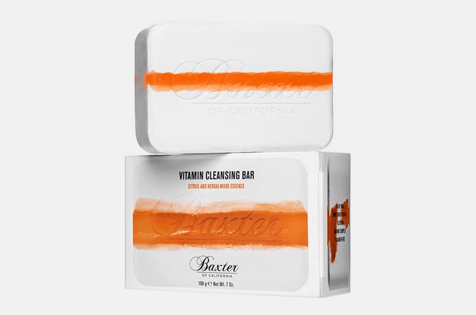 Baxter of California Vitamin Cleansing Bar (Citrus / Herbal Musk)