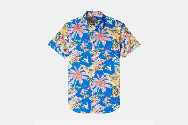 Bonobos Amalfi Premium Short Sleeve Shirt