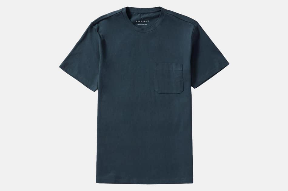 Everlane The Premium-Weight Pocket Tee Uniform