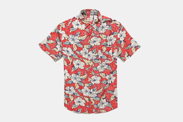 445840c2 Here are the 15 best. Faherty Short-Sleeve Reverse Print Coast Shirt