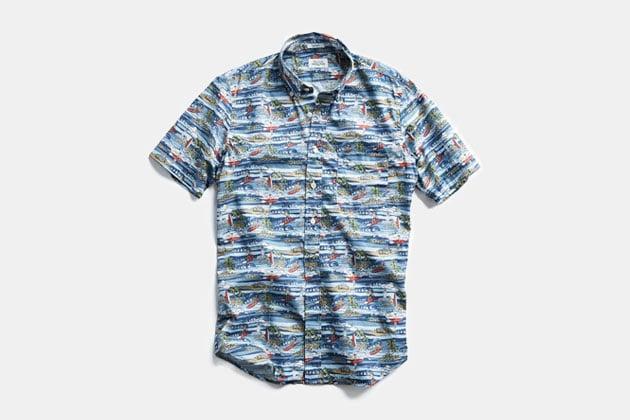 Hartford Hawaiian Surf Shirt