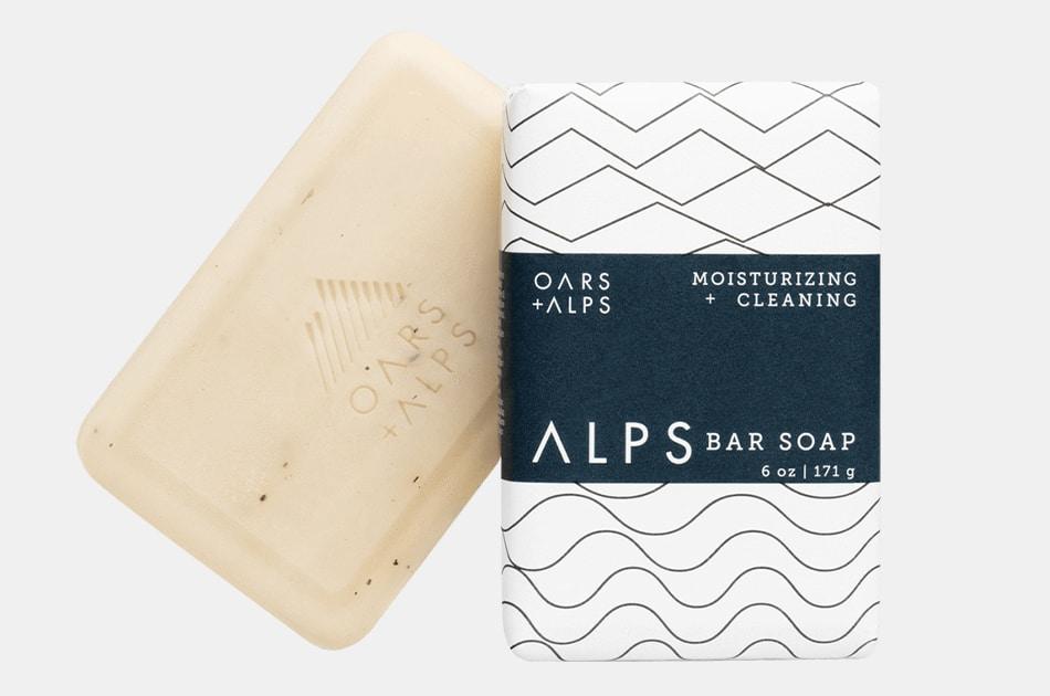 Oars + Alps Moisturizing Alps Bar Soap