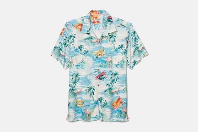 Tommy Bahama Destination Florida Camp Shirt