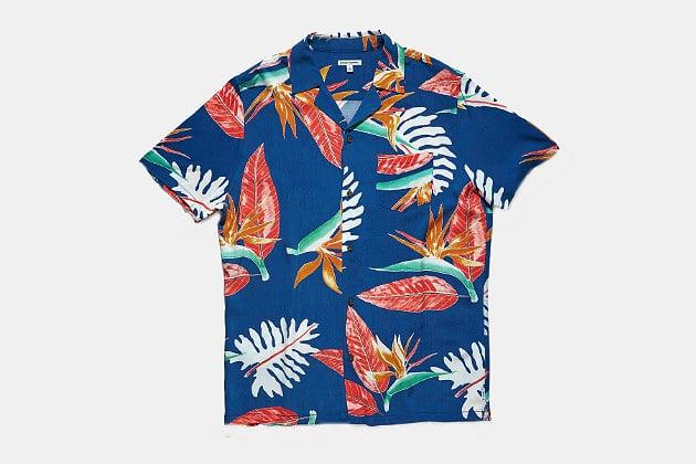 Banks Journal Bloom SS Woven Shirt