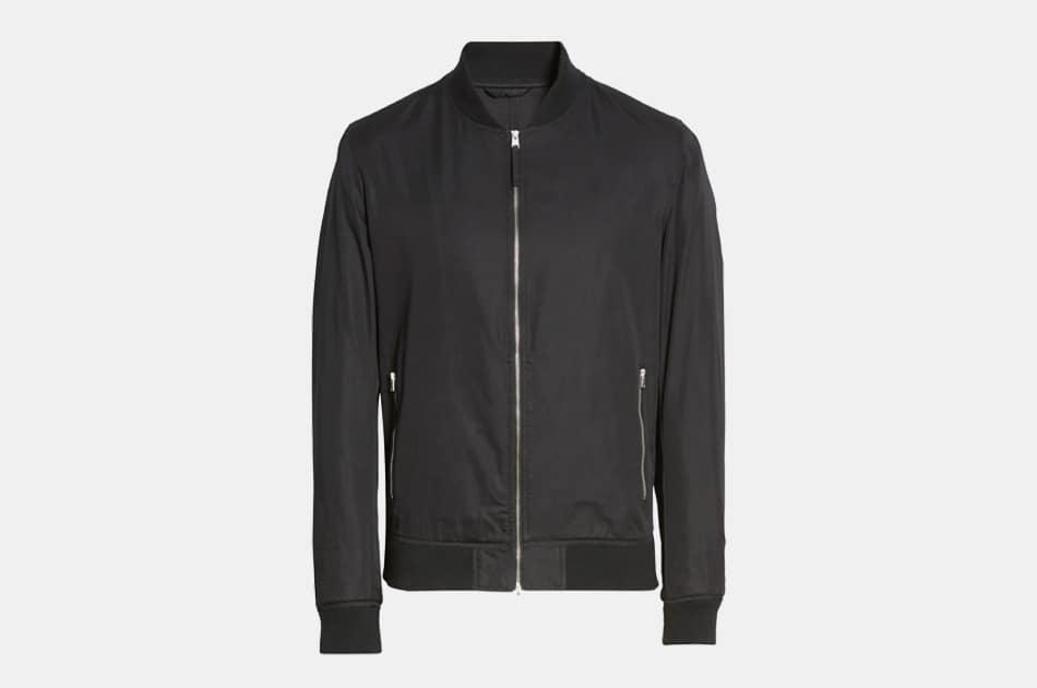 AllSaints Udan Slim Fit Bomber Jacket