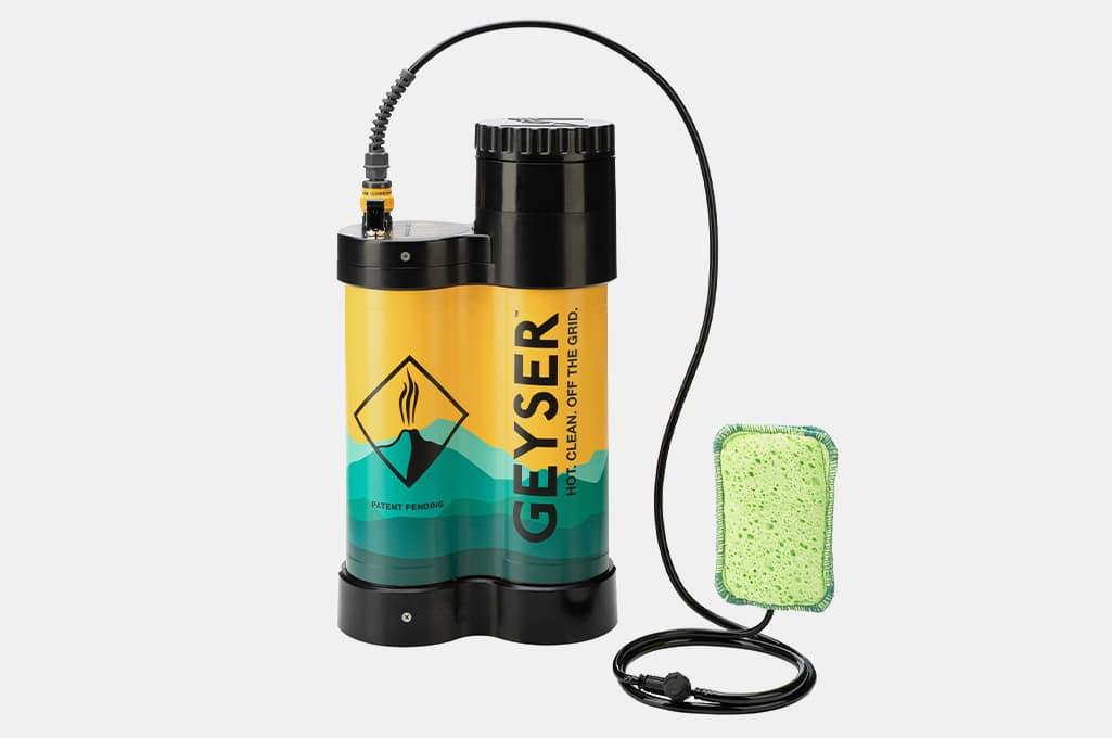 Geyser System Portable Hot Shower