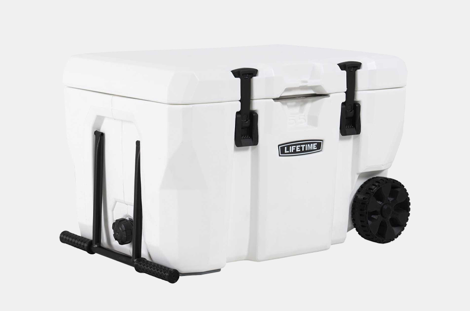 Lifetime Hard Sided Cooler With Wheels