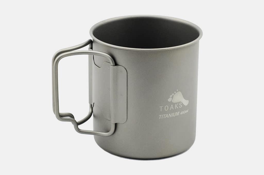 TOAKS Titanium Single Wall Cup