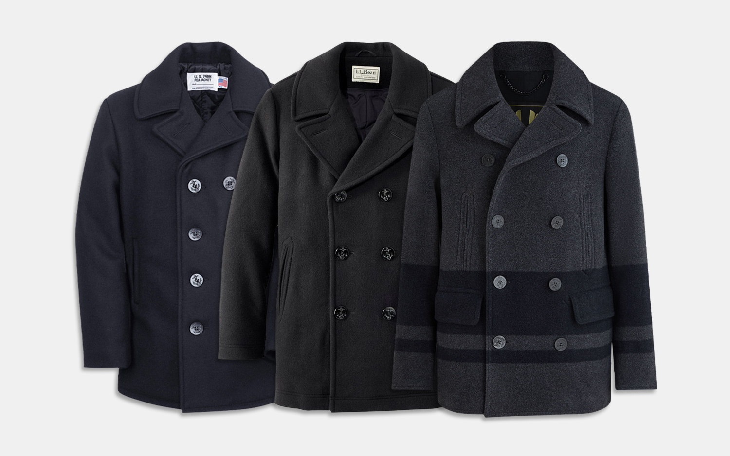 18 best peacoats for men