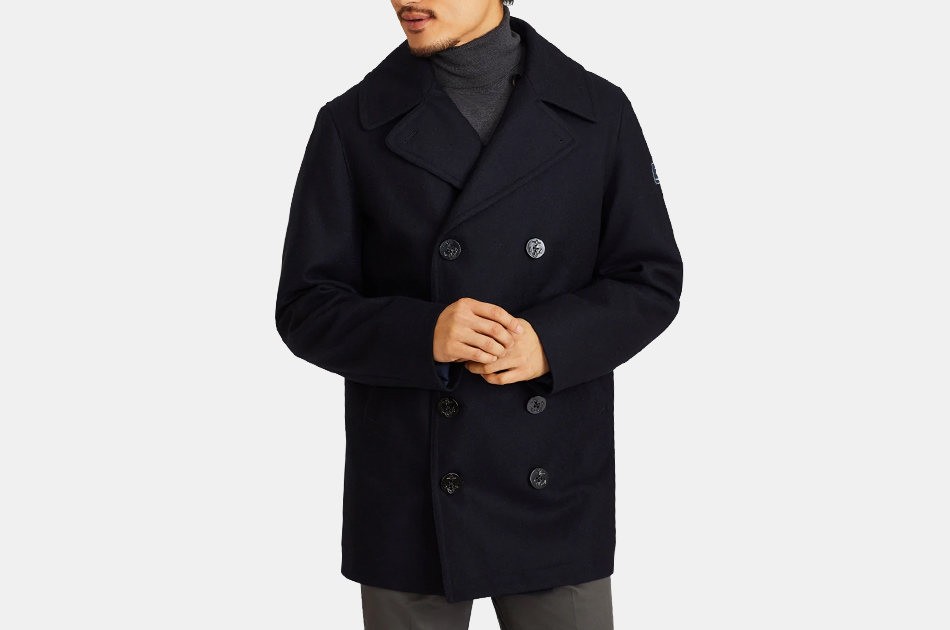 Brooks Brothers Iconic Wool Pea Coat