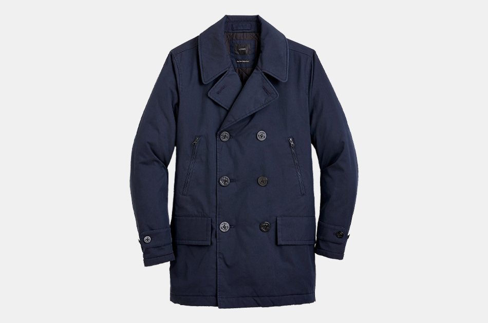 J.Crew Fulton insulated Peacoat