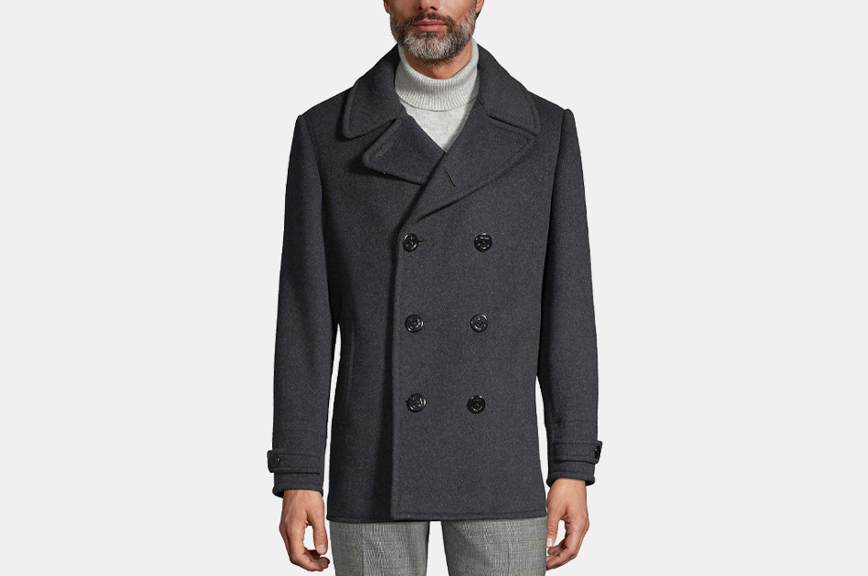 Land's End Wool Peacoat