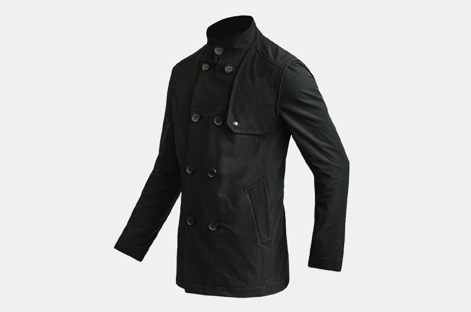 Mission Workshop Bridgeman : LT Softshell Pea Coat
