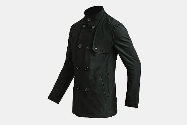 Mission Workshop Bridgeman : LT Softshell Pea Coat