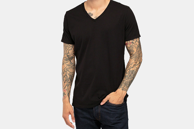 Richer Poorer V-Neck Tee