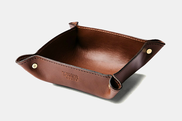 Tanner Goods Leather Valet Tray