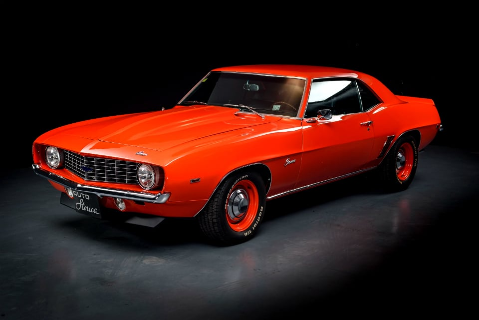 1969 Chevrolet Camaro ZL1 Red