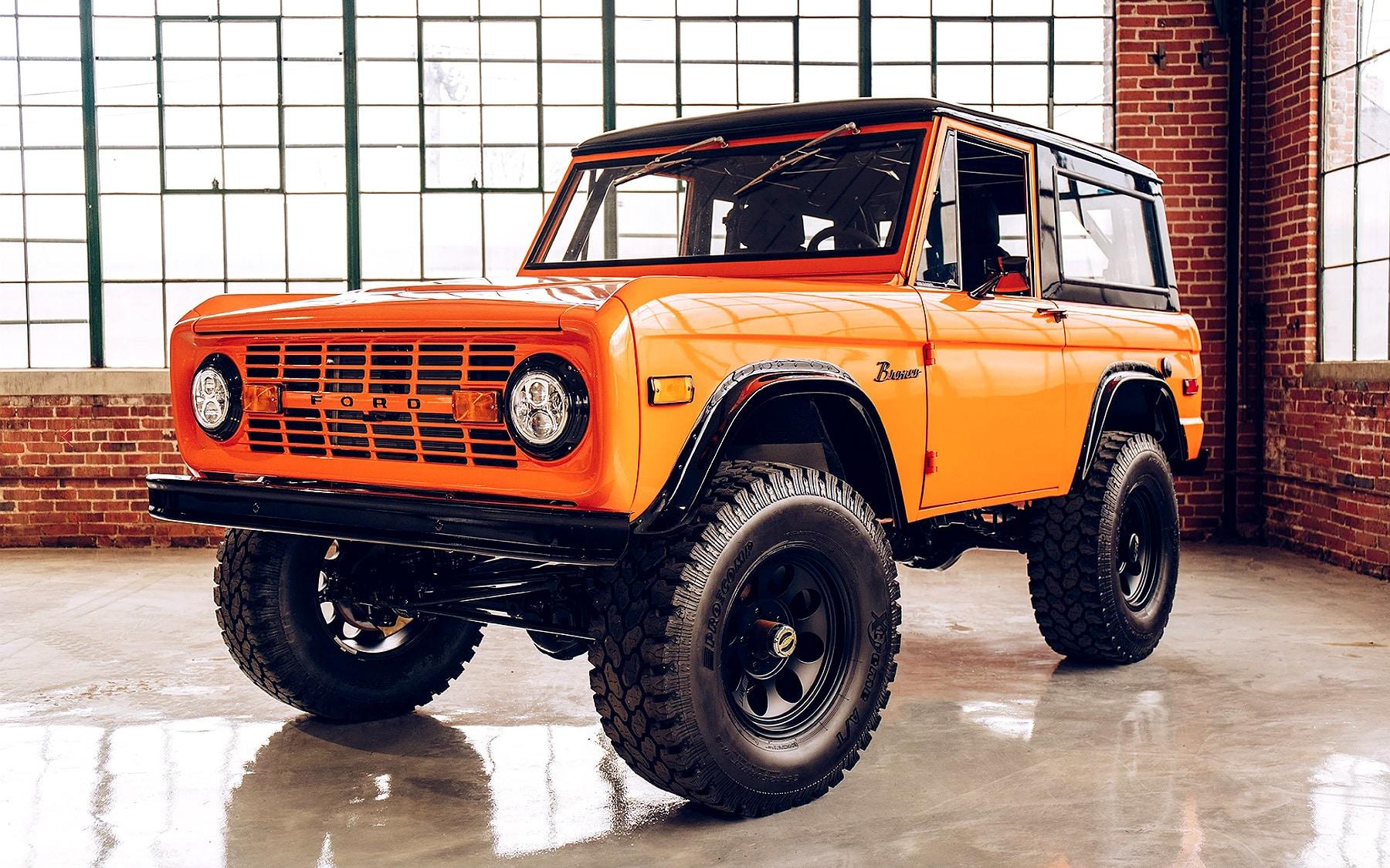 Redline Restorations 1971 Ford Bronco