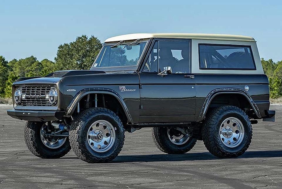 Velocity Restorations 1972 Ford Bronco