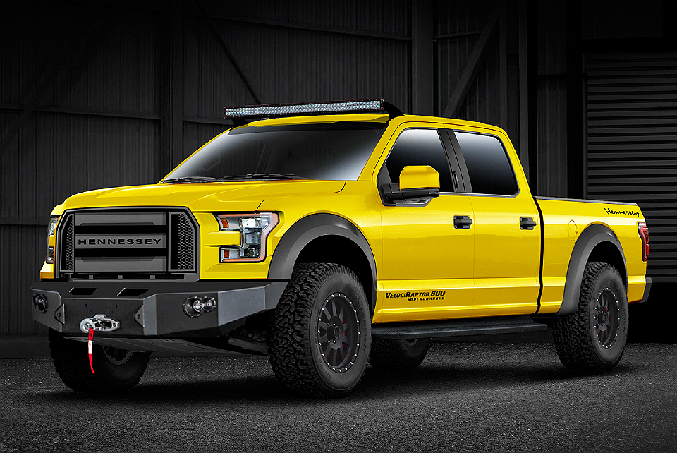 2015 Hennessey Supercharged 600 Ford F-150