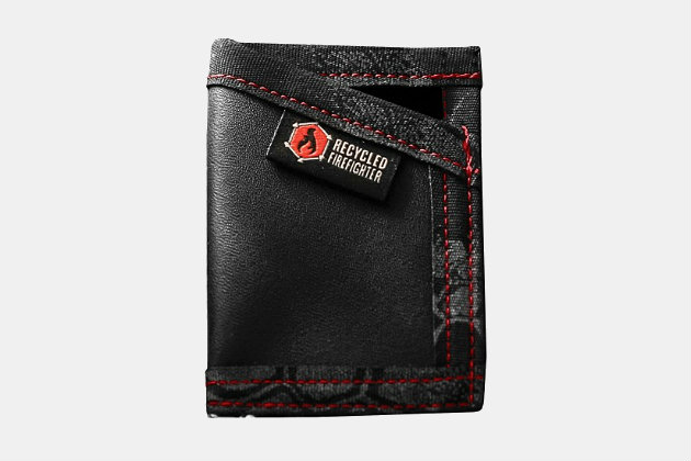 5.11 Tactical x Recycled Firefighter Sergeant Leather Wallet