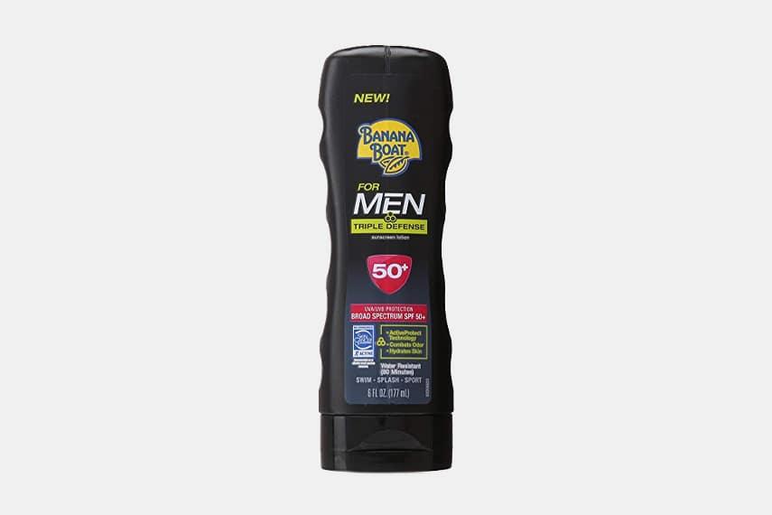 Banana Boat Triple Defense Sunscreen for Men SPF 50+