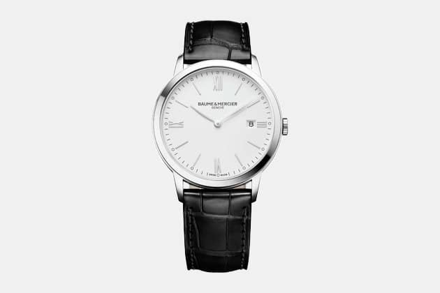 Baume & Mercier Classima Leather Strap Watch