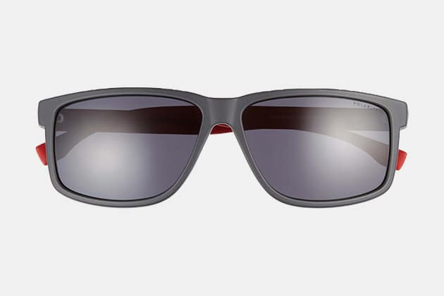Boss 60mm Polarized Sunglasses
