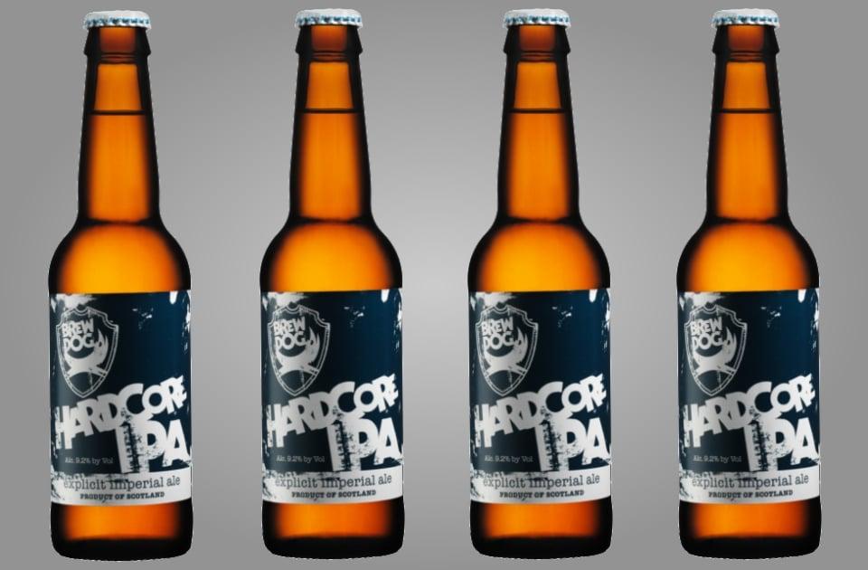 BrewDog Hardcore IPA Beer