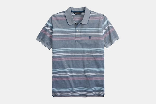 Brooks Brothers Original Fit Bold Stripe Polo Shirt