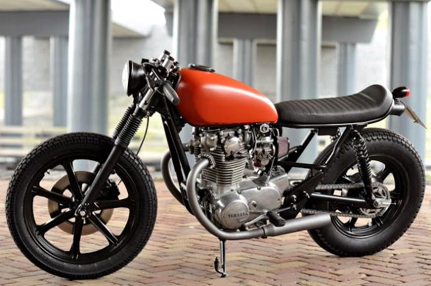 Left Hand Cycles Custom Yamaha XS650
