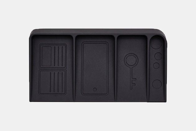 DOIY Black Metal Valet Tray