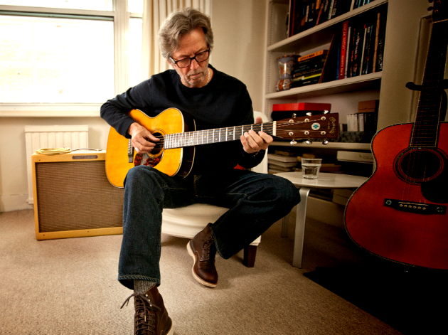 Eric Clapton Playing Crossroads Guitar Collection