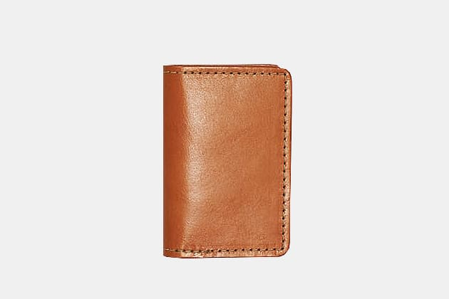 Filson Bridle Leather Card Case