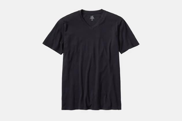 Flint and Tinder Supima Air Knit V-Neck Tee