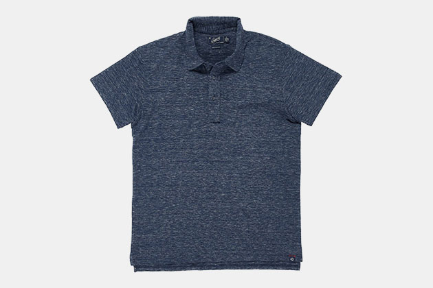 Grayers Hartford Slub Nep Jersey Polo
