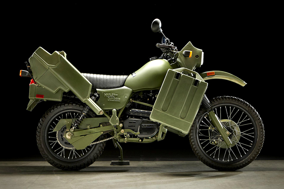1999 Harley Davidson MT500 Military Motorcycle