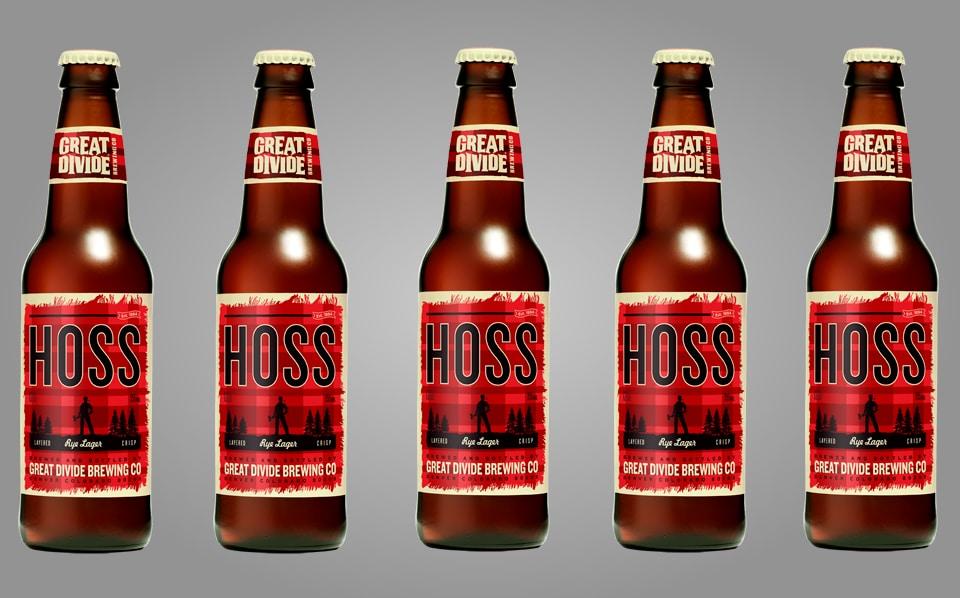 Hoss Rye Lager Beer