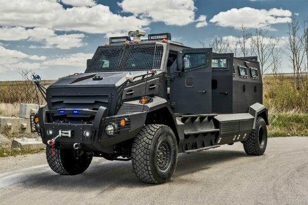 INKAS Huron APC Apocalypse Vehicle