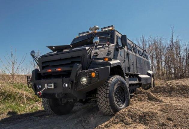 INKAS Huron APC Armored Tactical Vehicle