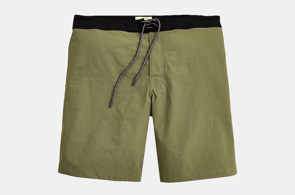 "J.Crew 9"" Stretch Board Shorts"