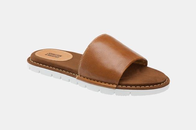 Johnston & Murphy Prescott Slide Sandals